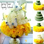 Families Make This Easy DIY Spring-Time Flower Cake Today