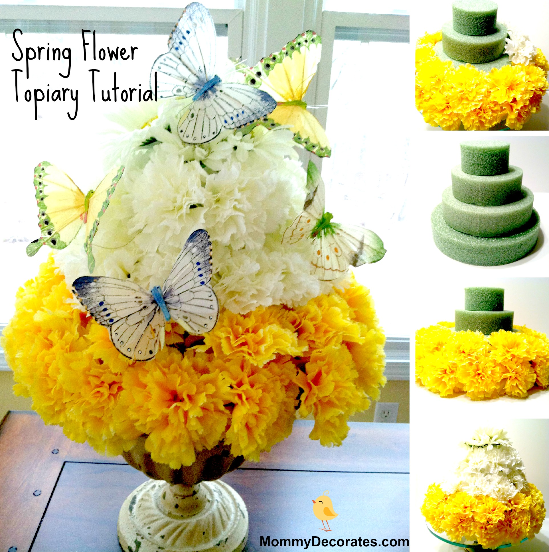 Families Make This Easy DIY Spring Time Flower Cake Today