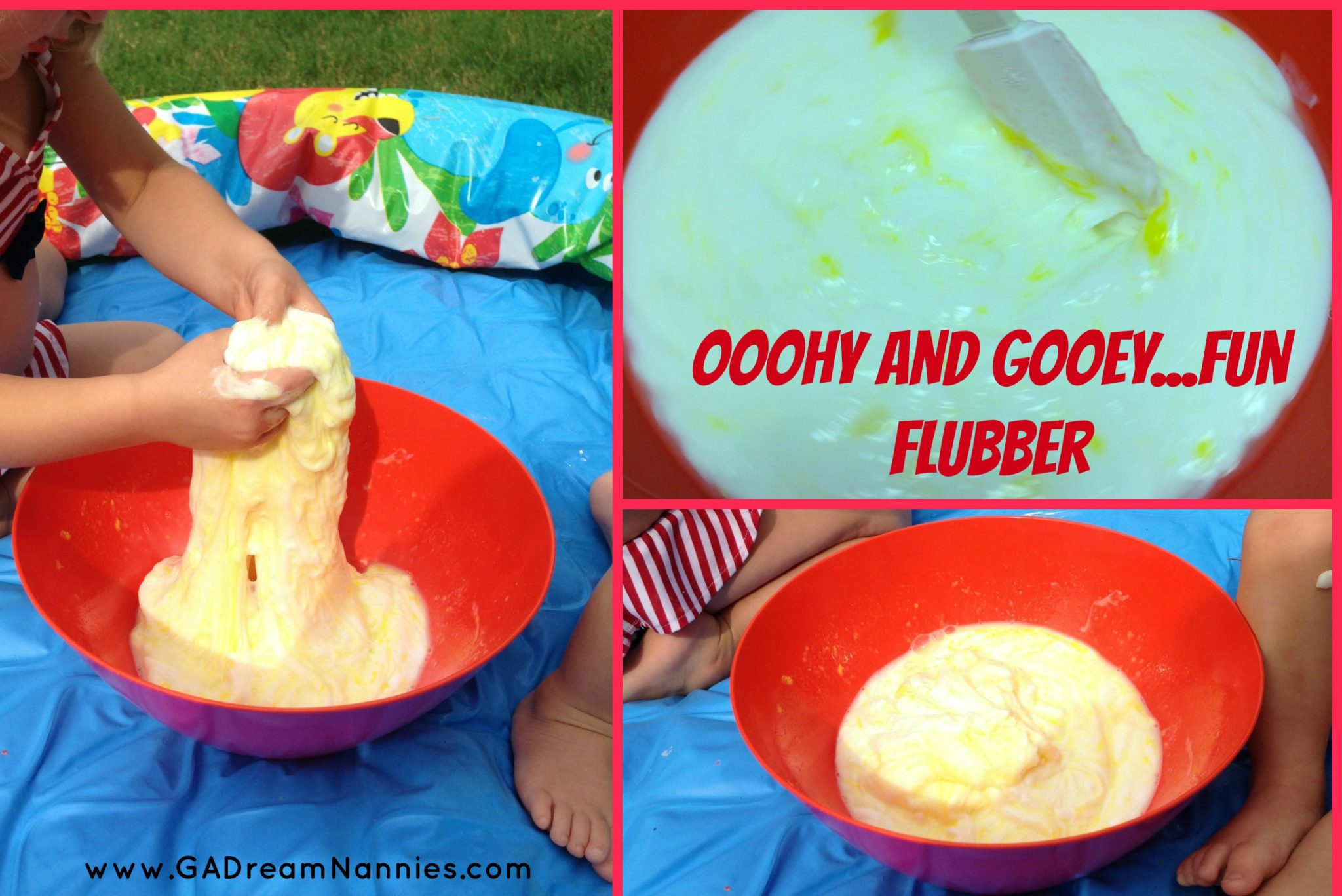 Nanny crafts make fun flubber georgia 39 s dream nannies for Cool things to make and do